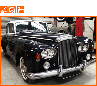 Vintage Car and Classic Car restoration