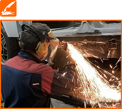 Fabrication and Welding for cars, vans, off-road vehicles, motorhomes and campervans