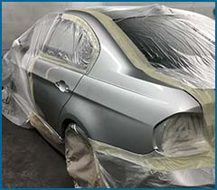 car crash repair and respray