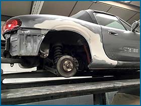 car and van bodywork repairs