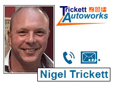 Nigel Tricket Managing Director at Trickett Autoworks