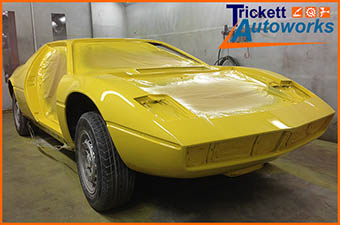 Classic Sports Car - paint respray